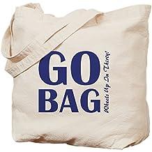 CafePress–Go-Bag–Gamuza de bolsa de lona bolsa, bolsa de la compra, lona, caqui, Small