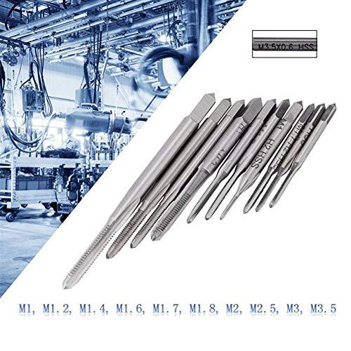 Maschinengewindebohrer M1 - M3.5 .5 Acogedor 10pcs Mini M1 bis M3.5 Maschinenhandgewindebohrer Gewindebohrer , M1, M1.2, M1.4, M1.6, M1.7, M1.8, M2 M2.5, M3, M3.5 (Grobgewinde)