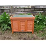 BUNNY BUSINESS Rabbit/ Guinea Pig Giant Hide House/ Run Hutch, Extra Large, 60 × 47 × 50 cm 9