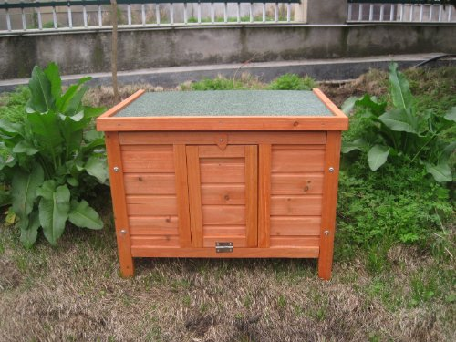 BUNNY BUSINESS Rabbit/ Guinea Pig Giant Hide House/ Run Hutch, Extra Large, 60 × 47 × 50 cm 2