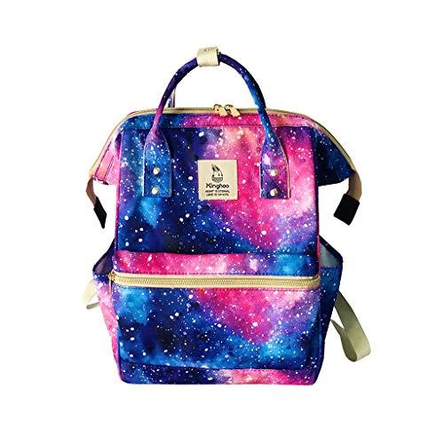 TUDUZ Damen Freizeit Fashion Solid Large Capacity Messenger Taschen Totes Rucksäcke Clutches Sporttaschen(Mehrfarbig)