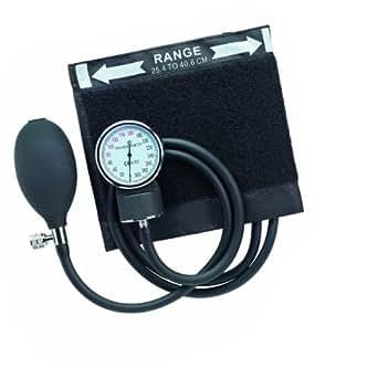 Timesco D05.105 Aneroid Sphygmomanometer, Emerald 'Clip On', 2 Tubes