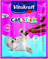 Vitakraft Cat Stick Mini Salmon And Trout X 3, 18 Gm
