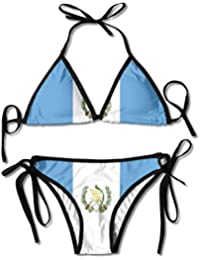 chenwenyanouzhou Flag of Guatemala Swimsuits Bikinis Thong Swimsuit for Beach Beach Swimming
