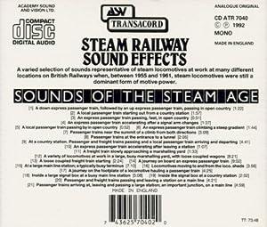 Steam Railway Sound Effects [IMPORT]