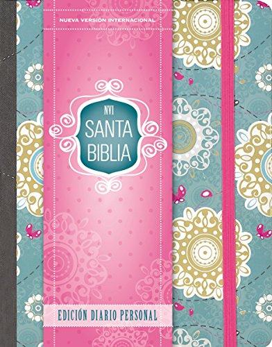 Santa Biblia Nvi, Edición Diario Personal - Floral por Zondervan