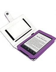Sony PRS-T2/PRS-T1 eReader eBook Reader Cuir Sac Boîte Étui Manteau Couverture Enveloppe de protection Enveloppe en violet