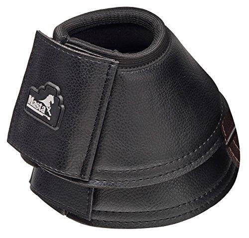 Masta Hufschuhe im Lederlook Größe L schwarz - schwarz Preisvergleich