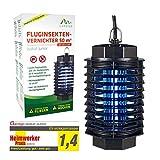 Gardigo Fluginsekten-Vernichter 50 m² UV-Licht Heimwerker Praxis Note 1