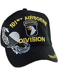 Casquette Américaine 101st Airborne Division us usa brodée Militaire Paratrooper commando seal