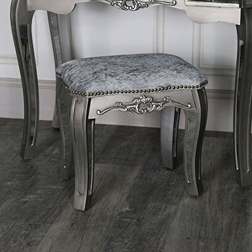 Melody Maison Gamme Tiffany – Tabouret de Coiffeuse Miroir 742b479e0c6e