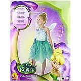 Rubbies - Disfraz de hada para niña, talla 5 - 6 años (888827M)