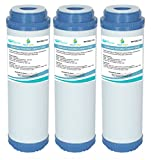 AquaHouse Gac-10 Lot de 3 Cartou...
