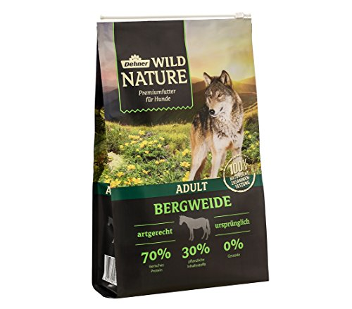Dehner Wild Nature Hundetrockenfutter Bergweide Adult, Pferd, 4 kg