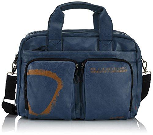 Strellson Paddington SoftBriefcase XL 4010001472 Herren Henkeltaschen 41x31x16 cm (B x H x T) Blau (blue 400)