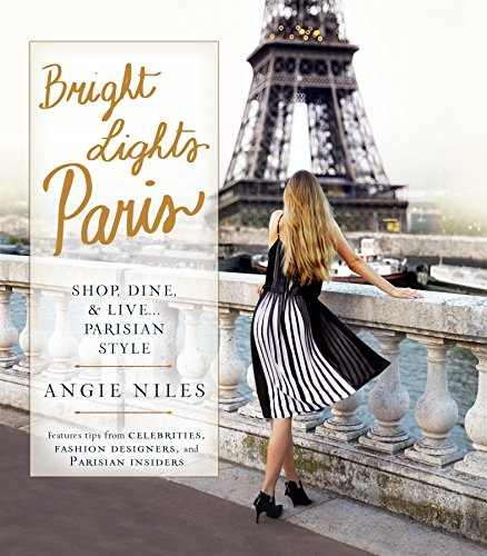 Bright Lights Paris por Angie Niles