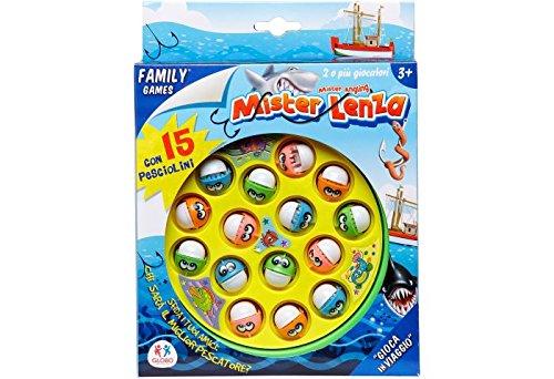 Globo Toys Globo-34565Angeln Familienspiel