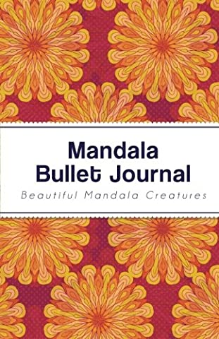 Mandala Bullet Journal: Mandala Design - 130 Dot Grid Pages,