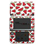 Nintendo New 3DS XL Case Skin Sticker aus Vinyl-Folie Aufkleber Melone Sommer Essen