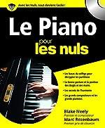 Le Piano pour les Nuls (+ 1CD audio) de Marc ROZENBAUM