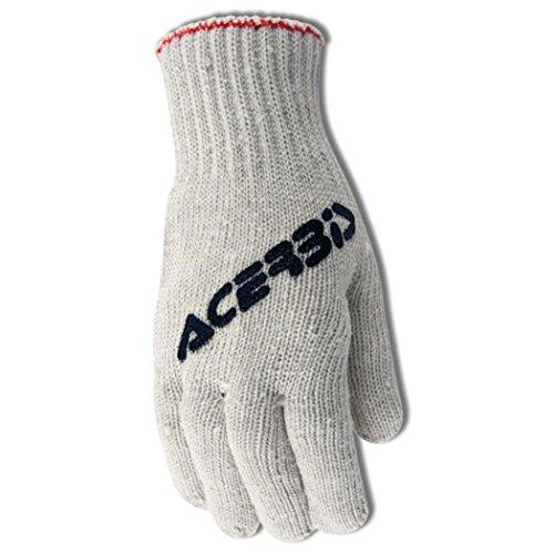 Acerbis Handschuhe Cotton Weiß