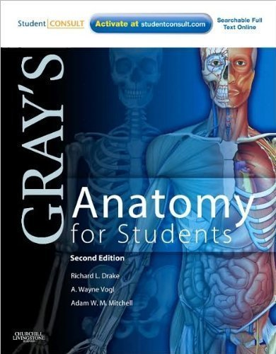 Netters Anatomy Coloring Book Plate 2nd Edition Pdf Amazon RL Drakes A WVogsl AW M Mitchells Grays For Students