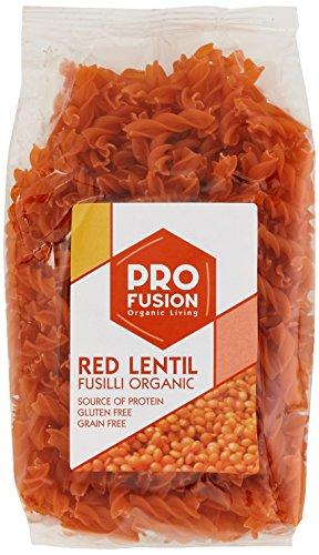 PROFUSION Organic Gluten Free - Grain Free Red Lentil Fusilli 300g (PACK OF 6)