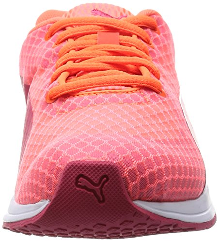Puma - Burst Wn's, Scarpe da corsa Donna Arancione (Orange (fluo peach-rose red 01))