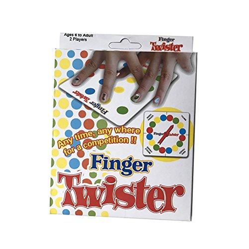 VZOM Drôle Doigt Twister Jeu Party Jeux Jeux de Plateau Nouveauté Jouet Cadeau pour Pique-Nique en Plein Air Bureau Maison et Voyage