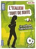 Coffret Mains libres L'italien Tout de suite 100% audio (2CD)...