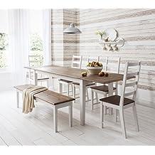 Suchergebnis Auf Amazonde Für Esstisch Mit Bank Und Stühlen