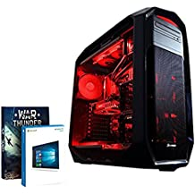 Vibox Limitless 12 3GHz i7-5960X Torre Negro, Rojo - Ordenador de sobremesa (i7-5960X, Intel® High End Desktop Processors, LGA 2011-v3, Smart Cache, 64 bits, R2)