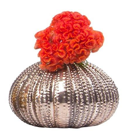 Ciboulette Oursin Bud Vase antique, or rose