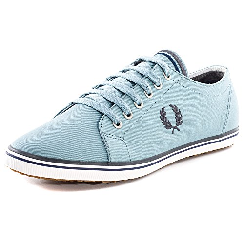 Fred Perry  Kingston Twill, Espadrilles pour homme 3 Light Blue
