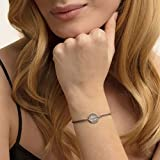Thomas Sabo Damen-Armband Little Secrets Best Friend 925 Sterling Silber Grau LS024-173-5-L20v