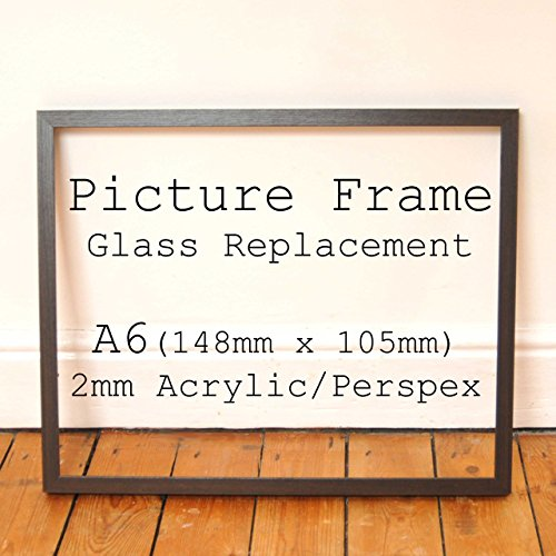 clear-2mm-acrylic-glazing-replacement-for-broken-picture-photo-frame-glass-a6-148mm-x-105mm