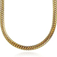 MJARTORIA Men Necklace Hip Hop Chunky Chain Alloy Jewelry for Decoration 75cm Gold Color