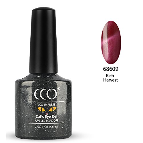Esmalte de uñas en gel CCO UV LED Cat Eye Soak Of