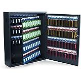 Pavo 8047215 - Caja para llaves de alta seguridad (capacidad para hasta 150 unidades) gris