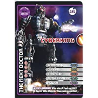 Doctor Who Monster Invasion Extreme Card #191 Cyberking