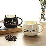 Buckle Up Cat Mug Coffee Mug ,White