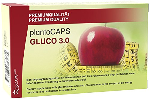 Abnehmen mit plantoCAPS® GLUCO 3.0 Kapseln | Appetitzügler | Appetithemmer