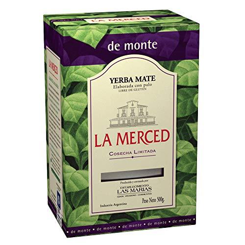 Té Mate Argentino, Paquete 500g - Yerba Mate LA MERCED de Monte 500g