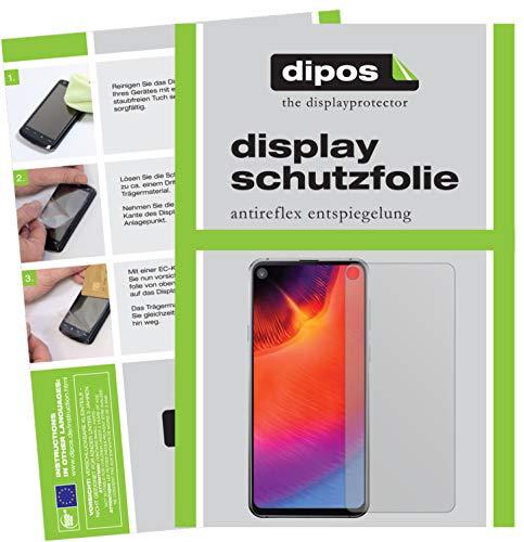 dipos I 6X Schutzfolie matt passend für Samsung Galaxy A8s Folie Bildschirmschutzfolie (3X Vorderseite + 3X Rückseite)