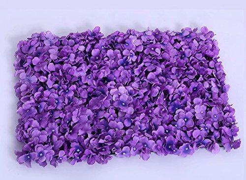 Popowbe Hochzeits- und Blumen-Simulation Blume Fenster-Dekoration mit Aquarellpapier-Teppich-Ornament Blume in Layout Lilac
