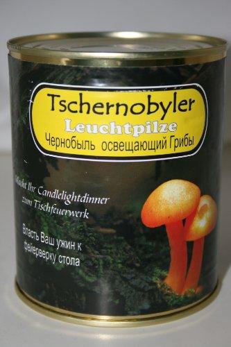 Tschernobyler Leuchtpilze in der Dose (Scherzartikel)