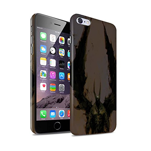 Offiziell Chris Cold Hülle / Glanz Snap-On Case für Apple iPhone 6S+/Plus / Herzensucher Muster / Wilden Kreaturen Kollektion Teufel/Tier