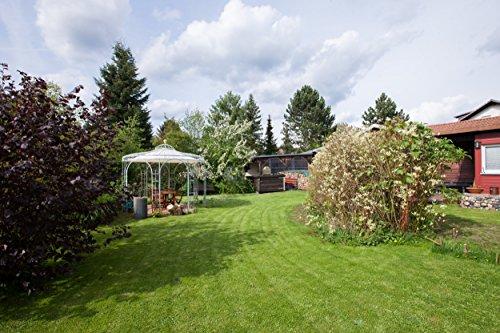 ELEO Florenz runder Gartenpavillon aus Metall mit Sonnensegel, Ø 3,7 Meter (Oberfläche: feuerverzinkt) - 8
