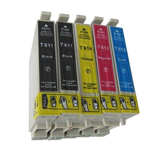 Preisvergleich Produktbild 5 Druckerpatronen für Epson Stylus C64 C66 C84 C86 c84N C84wn CX3600 CX3650 CX4600 CX6400 CX6600 C 64 66 84 86N 86 CX 3600 3650 4600 6400 6600 (kompatibel)