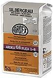 ARDEX G6 FLEX1-6 Flex-Fugenmörtel 5kg silbergrau